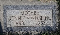 Jennie <I>Vaughn</I> Gosling