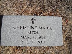 "Christine Marie ""Chris"" Bush"