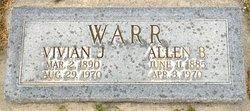 Vivian Jones Warr