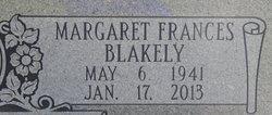 Margaret Frances <I>Blakely</I> Frederick