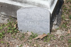 Elder Daniel Long (Unknown-1873) - Find A Grave...