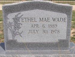 Ethel Mae <I>Potter</I> Wade