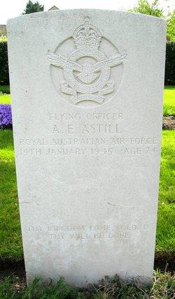 Flying Officer Alan Edwin Astill
