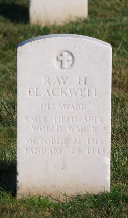 Sgt Ray Henderson Blackwell