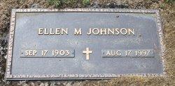 Ellen Mary <I>Fortain</I> Johnson