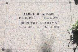 Albre Herbert Adams