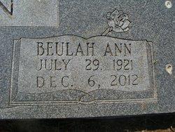 Beulah Ann <I>Flynn</I> Brown