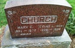 Mary E. <I>Mallay</I> Church