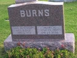Edna <I>DesChamps</I> Burns