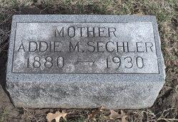 Addie M. <I>Jones</I> Sechler