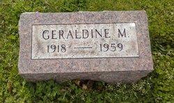 Geraldine M. Thomas