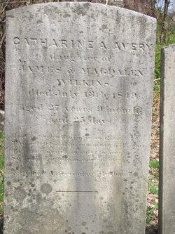 Catharine A. <I>Wilkins</I> Avery