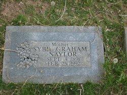 Sybil <I>Graham</I> Naylor