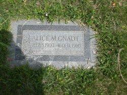 Alice M <I>Lynch</I> Gnadt