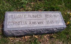 Cornelia A. <I>Tillotson</I> Bunker