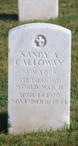 Corp Sandy A Calloway