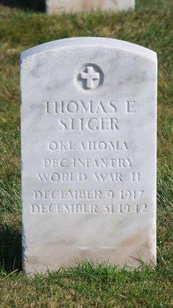 PFC Thomas E Sliger