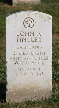 2LT John A Tingley