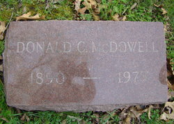 Donald Clair McDowell