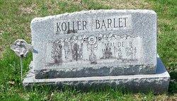 Maude B <I>Barrall</I> Barlet
