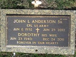 Dorothy <I>Grover</I> Anderson