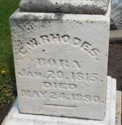 Charles Westcott Rhodes
