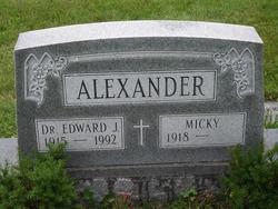 Dr Edward John Alexander