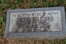 Irene <I>Shapiro</I> Krieger