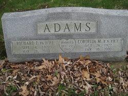 Cordella M <I>Fryer</I> Adams