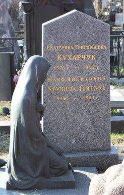 Yuliya Nikitichna <I>Khrushcheva</I> Gontar