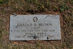 Harold Rand Browne