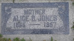 Alice M. <I>Burton</I> Jones