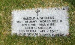 Harold K Shields