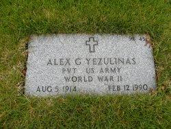 Alex G Yezulinas