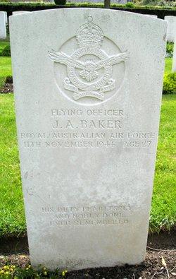 Flying Officer John Albert Baker