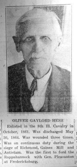 Oliver Gaylord Hess