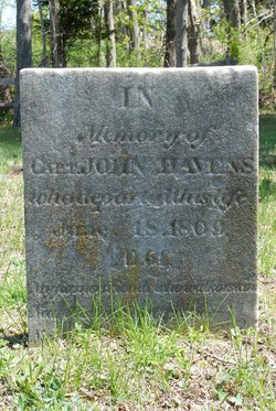 Capt John Havens