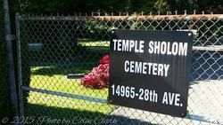 Temple Sholom Cemetery