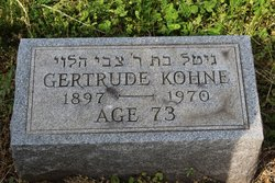 Gertrude <I>Siegel</I> Kohne