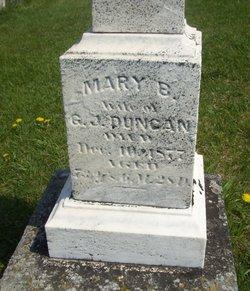 Mary B <I>Baxter</I> Duncan