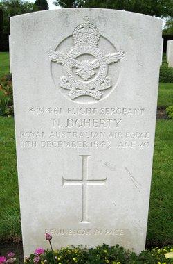 Flight Sergeant Nicholas Doherty