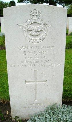 Sergeant ( Nav. ) Stuart Wilson