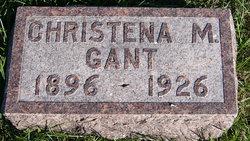 Christena May <I>Hamilton</I> Gant