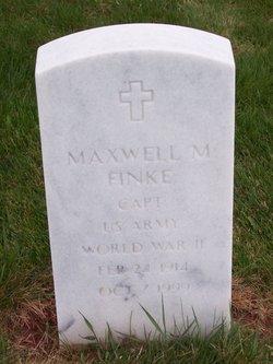 Maxwell M Finke