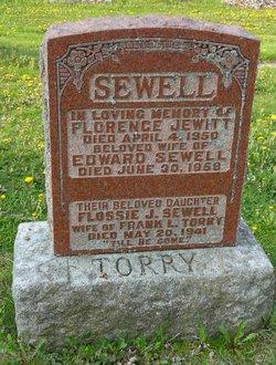 Florence <I>Jewitt</I> Sewell