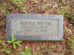 Minnie <I>Schrader</I> Meyer