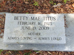 Betty Mae Titus