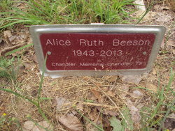 Alice Ruth <I>Herrington</I> Beeson