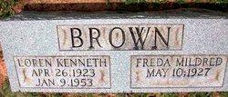 Freda Mildred Brown