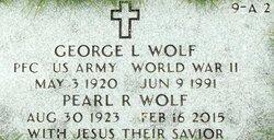George L Wolf